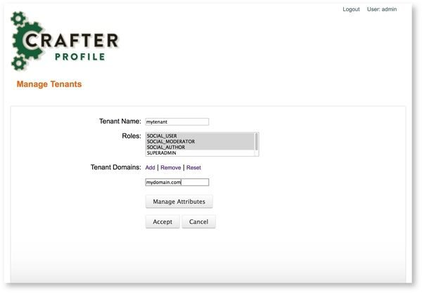Crafter Profile, Web Content Management