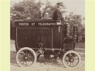 French postal carrier vehicle (1901)