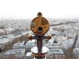 telescope looking out on Paris