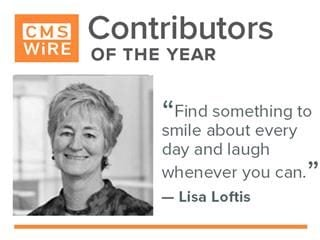 "Lisa Loftis: ""Find something to  smile about/be  grateful for every  day and laugh whenever you can"""