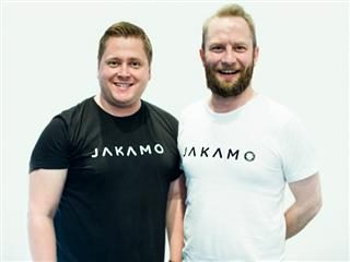 Jakamo co-founders Anssi Uitto Jarl Matti Anttila