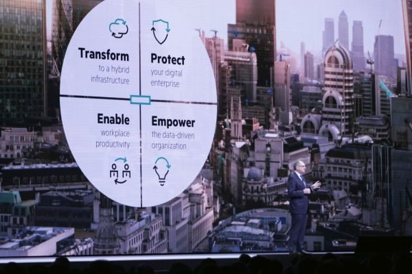 HPE SVP for EMEA Peter Ryan