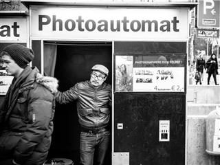 photoautomat on the street