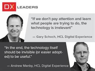 DXS21 Leaders: Gary Schoch and Andrew Manby of HCL digital experience