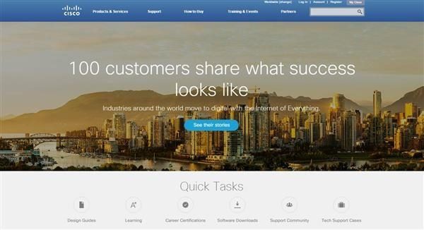 Cisco Homepage