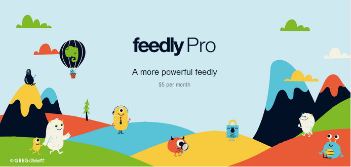 customer experience: feedly pro