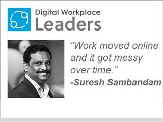 "Kissflow CEO Suresh Sambandam ""Work moved online and it got messy over time."""