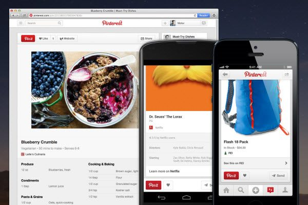 Pinterest Unveils New Pinning Feature; Mobile Update