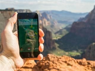 Pokemon Gym at Zion Observation Point