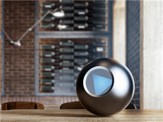 Eight-ball not answering the question, what is a digital workplace? - digital workplace concept