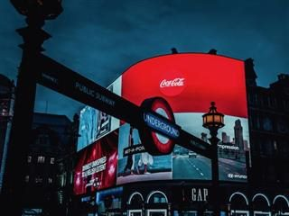 video billboards  in London