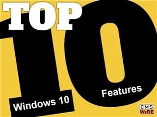 Top 10 Win10 features
