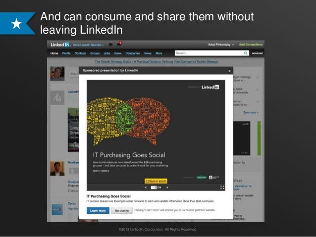 Linkedin Expands Advertising Options For Marketers With Slideshare Tools