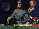 Jacopo Barbari - Portrait of Fra Luca Pacioli with a Student