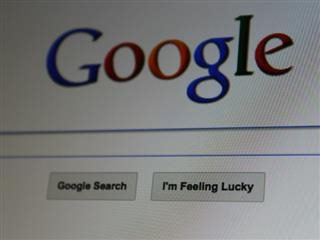 "google search bar ""i'm feeling lucky"""