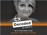 CX Decoded Podcast Stephanie Thum