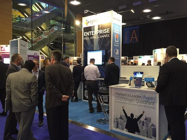 Syncplicity Booth