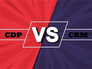 CRM versus CDPs for the enterprise