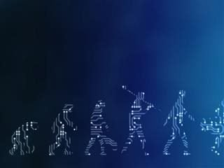A digital evolution - blockchain concept