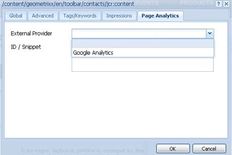 CQ5 Google Analytics Integration