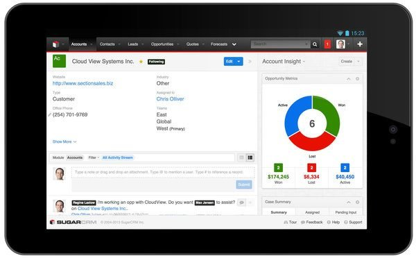 customer experience, SugarCRM's New CRM Experience Focuses on Individual