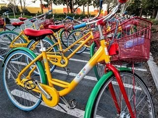google bicycles