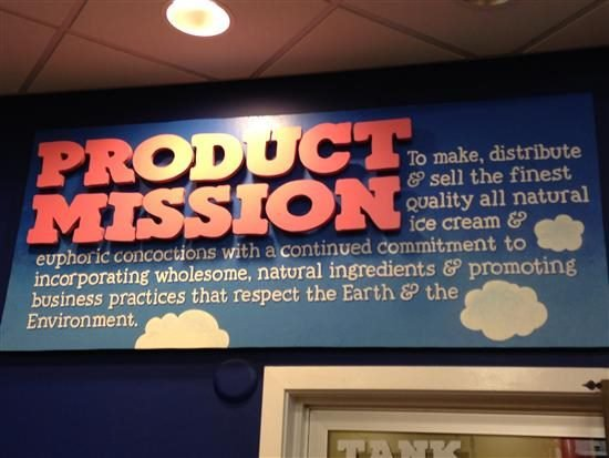 Ben and Jerry's Product