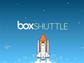 box shuttle illustration