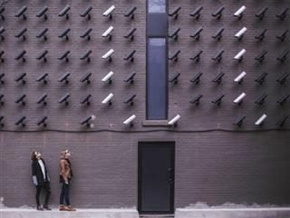 surveillance by many cameras
