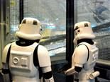 stormtroopers in an elevator
