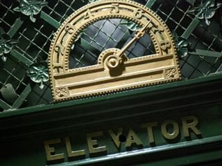 elevator going up