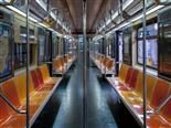empty  subway car