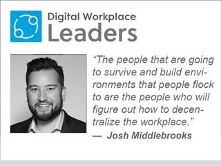 """Luxer One's Josh Middlebrooks: """"The people that are going to survive and build environments that people flock to are the people who will figure out how to decentralize the workplace"""""""