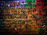 wall of keys