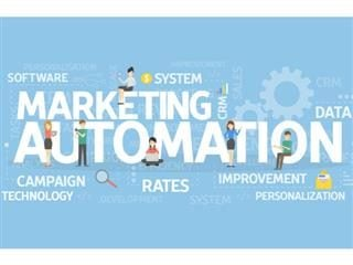 Marketing automation concept illustration