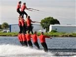 water ski team pyramid
