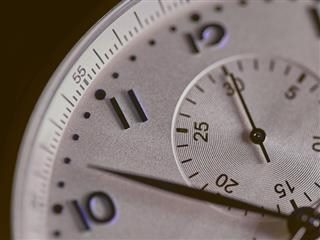 close up of a very precise watch