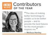 "CMSWire Contributor of 2019, Melissa Henley: ""The idea of making better technology to enable us to be better people – and to provide the best futures for the most people – inspires me."""