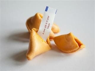 fortune cookie with job prediction