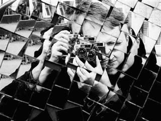 photograph taken in multifaceted mirror