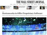 WSJ Hortonworks Headline Makes Heads Explode