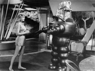 robot from forbidden planet