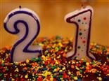Happy 21st Birthday Web CMS